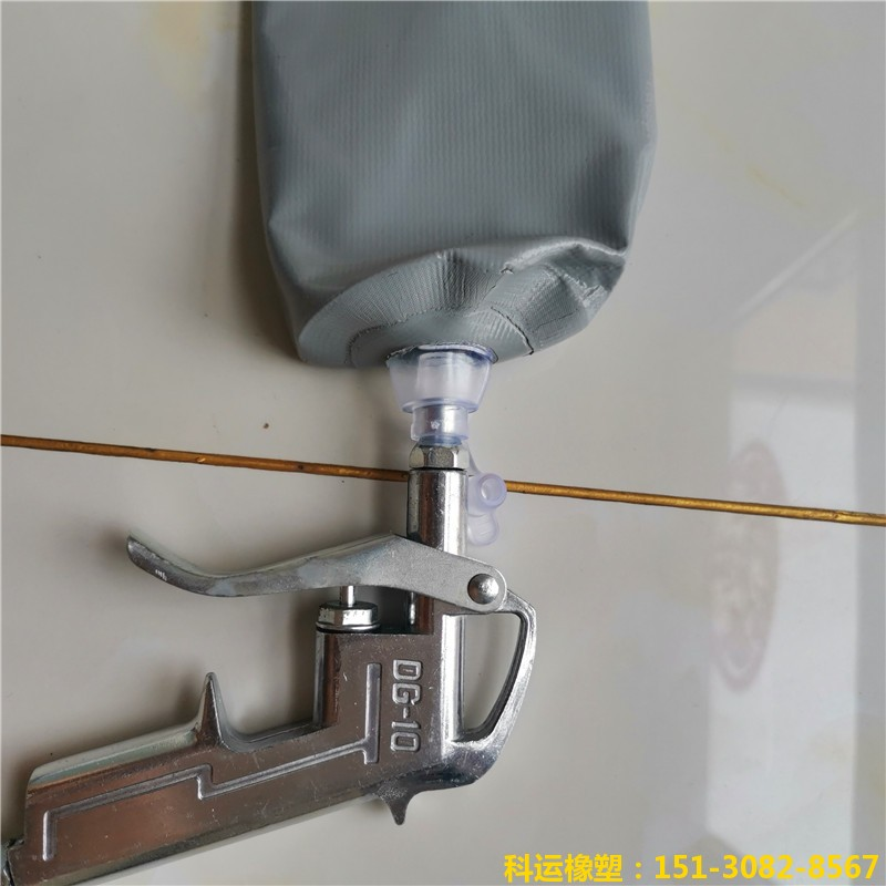 高层建筑隔断拦茬充气气囊 高低标号砼隔断气囊5