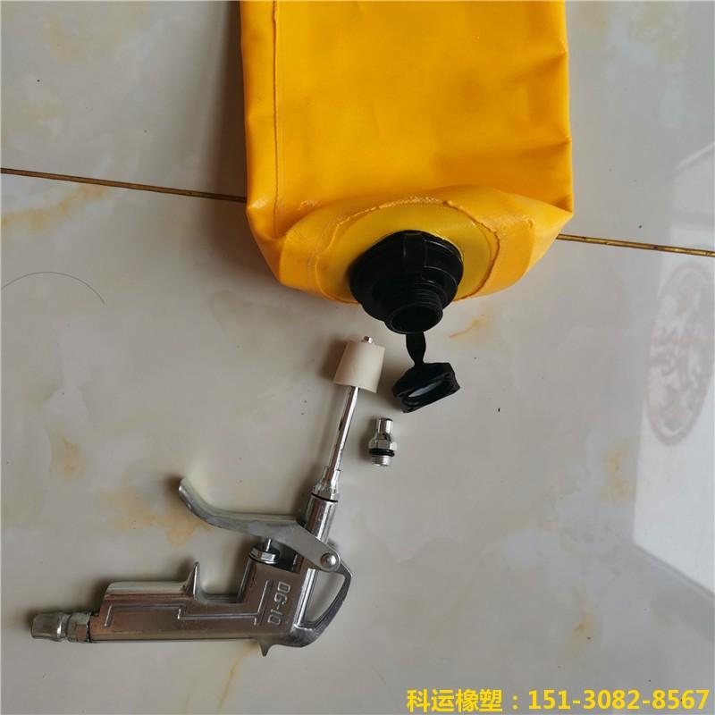 高层建筑隔断拦茬充气气囊 高低标号砼隔断气囊4