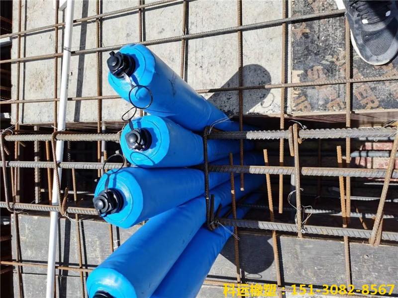 建筑梁柱节点核心区混凝土隔断拦茬气囊5