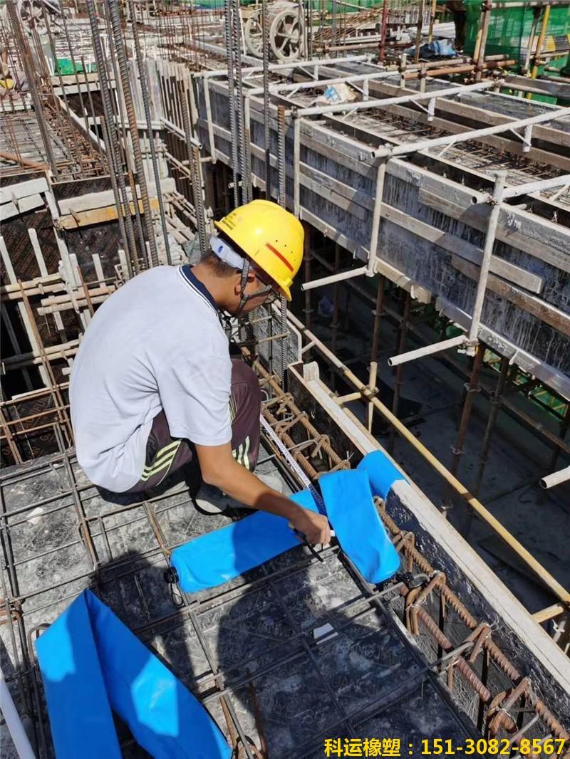 建筑浇筑混凝土用拦茬隔断气囊【防串标气柱】1