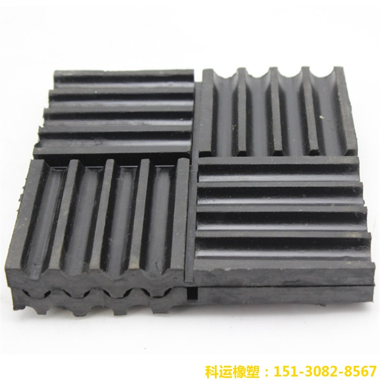 SD型橡胶剪切隔振垫-科运良品国标减隔震橡胶垫批发2