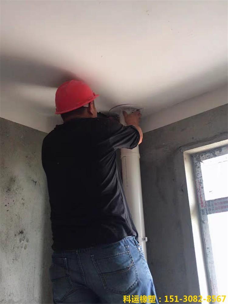 科运橡塑楼房管道穿板预留洞堵洞塑料吊模卡安装实践6