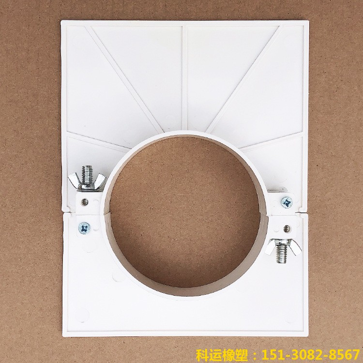 管道预留洞堵洞吊模 消防管道吊模 铸铁管道塑料吊模批发5