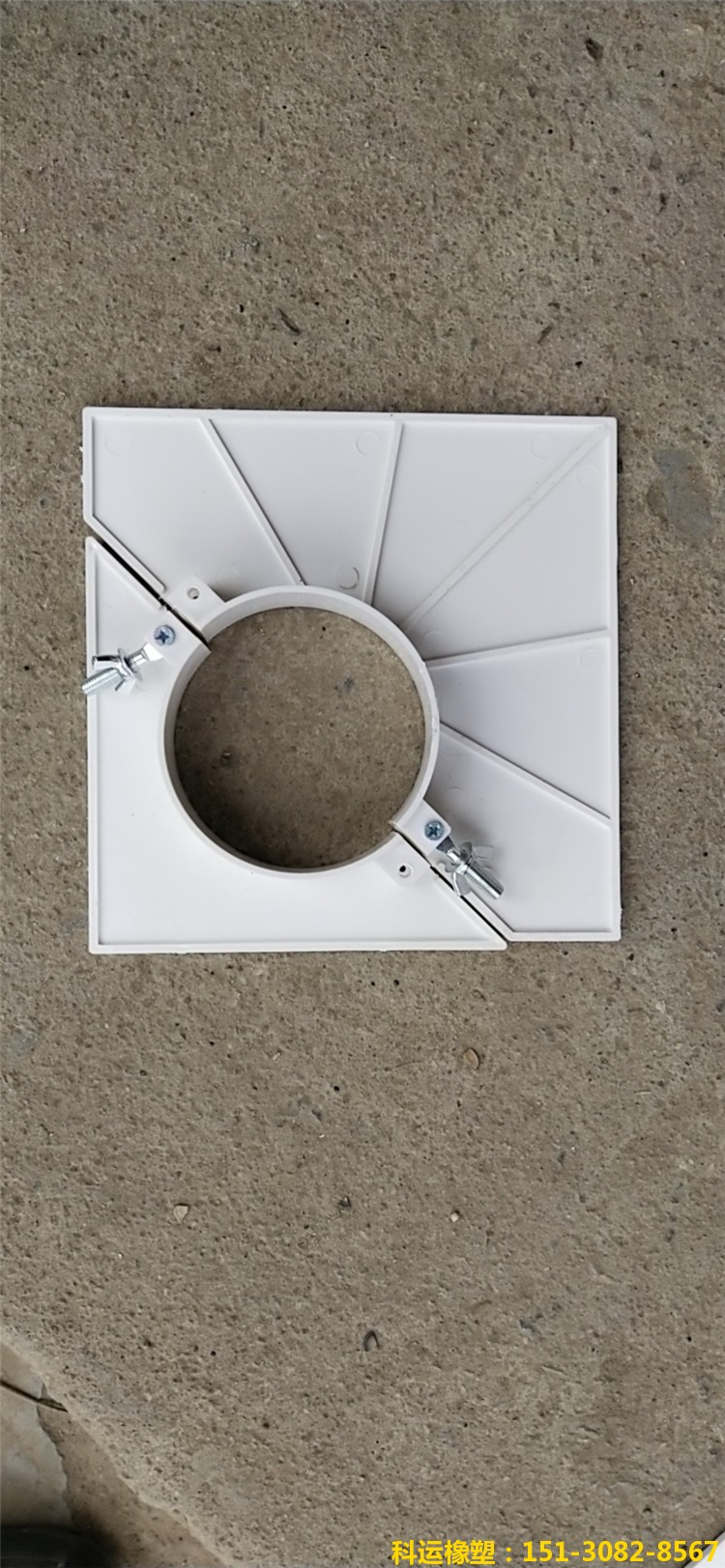 双排H管道三排M管道预留洞堵洞吊模 方形110吊洞模具6